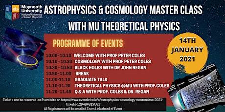 Astrophysics & Cosmology Masterclass 2021 tickets