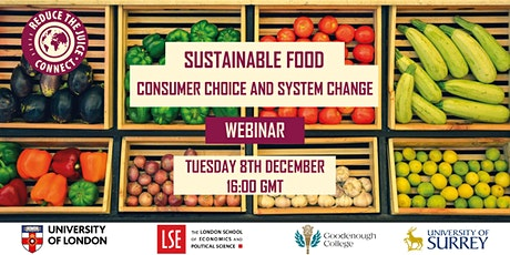 Sustainable Food: consumer choice and system change tickets