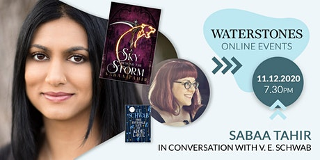 Sabaa Tahir in conversation with V.E. Schwab tickets