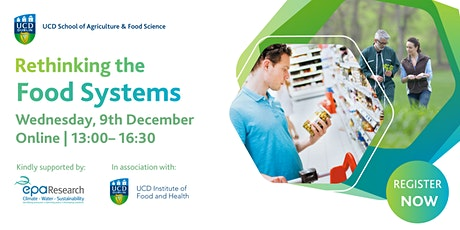 Rethinking the Food Systems tickets