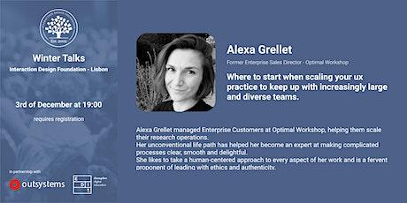 Winter Talks IDF - Alexandra Grellet tickets