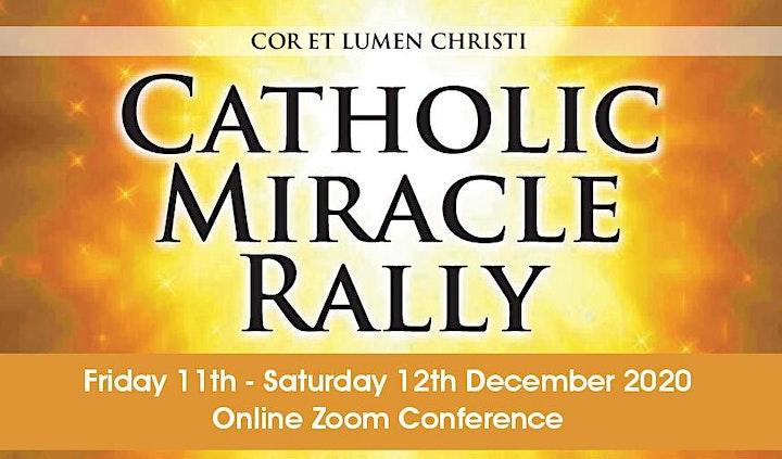 CATHOLIC MIRACLE RALLY image