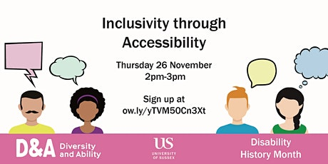 Inclusivity through Accessibility tickets