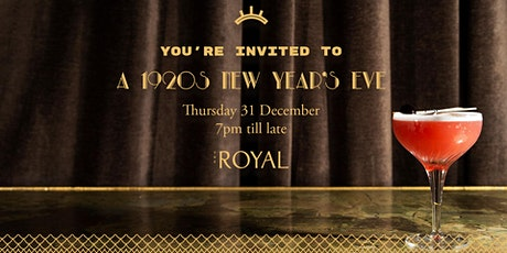 A 1920s New Year's Eve at The Royal tickets