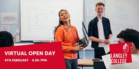 Langley College Virtual Open Day 2021 tickets