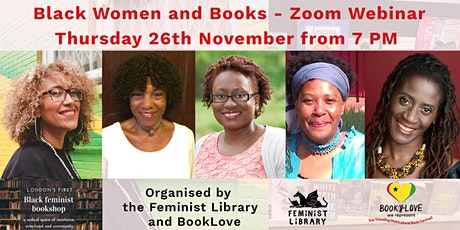 Black Women and Books – Zoom Webinar tickets