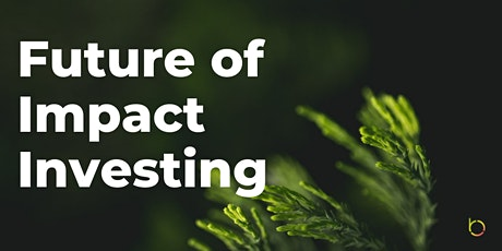 Future of Impact Investing (Online Panel + Networking) tickets