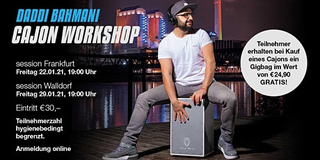 Daddi Bahmani Cajon Workshop - session Frankfurt Tickets