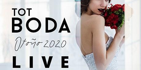 TOT BODA LIVE (19 y 20 de diciembre): 0 € boletos