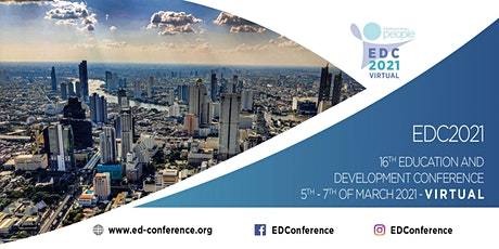 16th Education and Development Conference [EDC2021] tickets