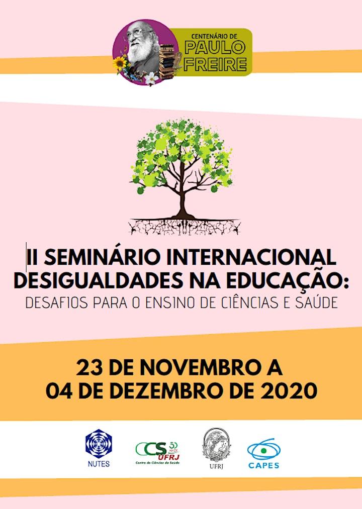 Imagem do evento II Seminário Internacional Desigualdades na Educação