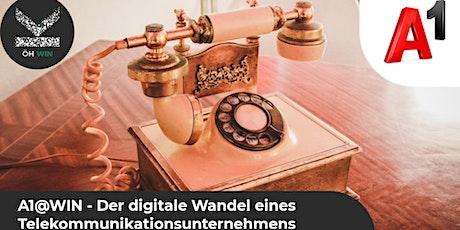 A1@WIN - Der digitale Wandel eines Telekommunikationsunternehmens Tickets