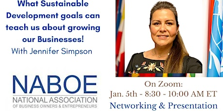 NABOE INSPIRE with Daya Naef: Making your business more profitable tickets