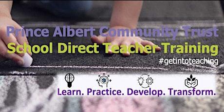 Prince Albert Community Trust School Direct Virtual Open Event tickets