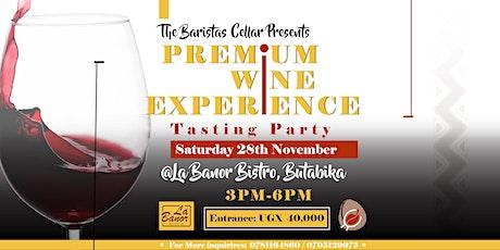 Premium Experiences-Wine Tasting Day tickets