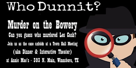 Murder Mystery Night #2 tickets