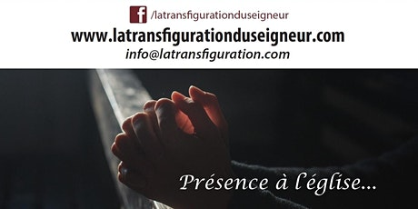 Présence à l'église - SAINT-FÉLIX DE CAP-ROUGE, JEUDI 14 HEURES billets