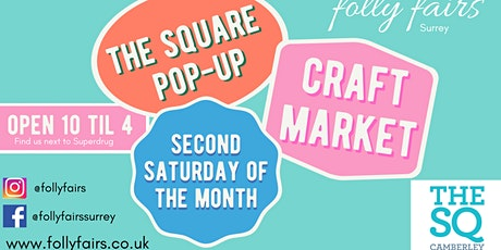 Camberley pop up craft market tickets