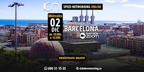 KCN Barcelona - Speed Networking Online 2-Dic entradas