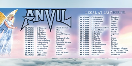 *Rescheduled* Anvil | The 1865 tickets