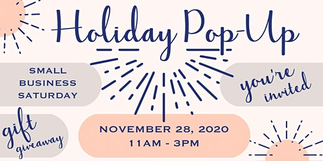 Holiday Pop-Up, Small Business Saturday tickets