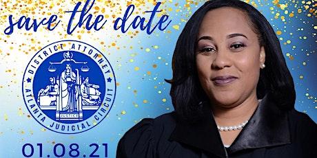 Fani Willis, District Attorney, Atlanta Judicial Circuit, Swearing In tickets