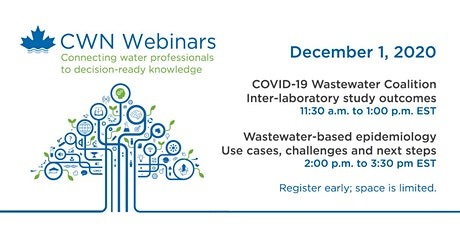 COVID-19 Wastewater Coalition webinar series tickets