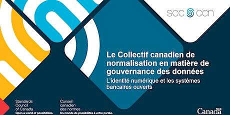 Consultation sur les normes de gouvernance des données billets