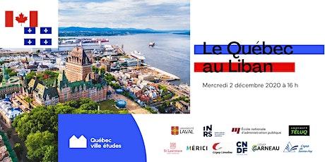 Le Québec au Liban billets