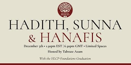 Hadith, Sunna & Hanafis tickets