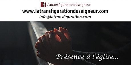 Présence à l'église - SAINT-AUGUSTIN, JEUDI 19 HEURES