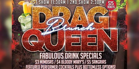 Drag Queen Brunch 12/19 Session 1 tickets