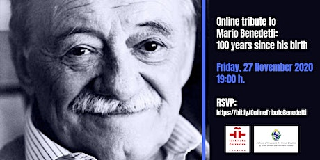 Online Tribute to Mario Benedetti: 100 Years Since entradas