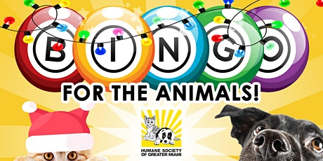 Virtual Bingo for the Animals - Holiday Edition tickets