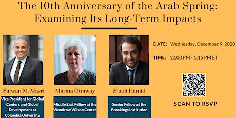 The 10th Anniversary of the Arab Spring: Examining Its Long-Term Impacts tickets