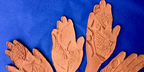 Create In Clay- PUBLIC ART FREE COMMUNITY PROJECT- Create A Clay Hamsa tickets