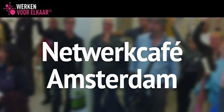 Netwerkcafé Amsterdam: Pak je podium in 2021 tickets