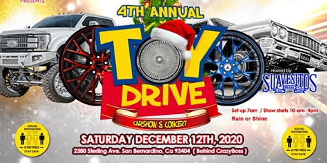 4th Annual Toydrive Carshow & Concert tickets