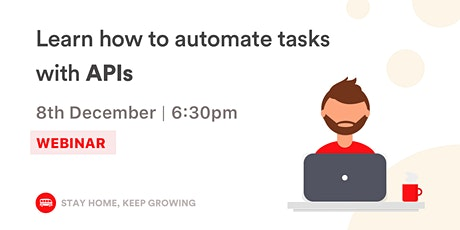 [Webinar] Learn how to automate tasks with APIs tickets