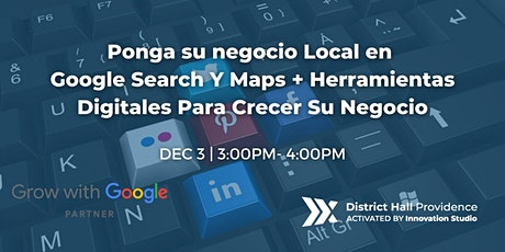 Ponga su negocio Local en Google Search Y Maps tickets