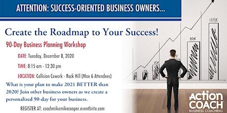 """Build Your 2021 Business Action Plan"" Live Workshop tickets"