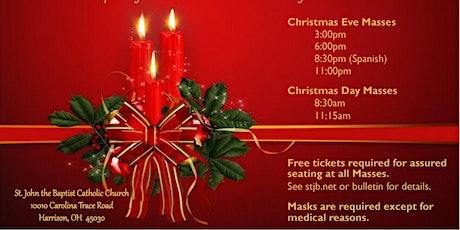 Christmas Mass at St. John the Baptist Catholic Church in Harrison, Ohio tickets