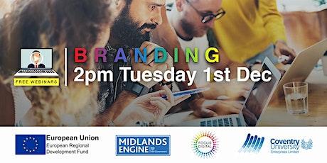Branding Webinar - Focus Digital tickets