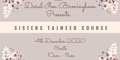 Sisters Tajweed Classes