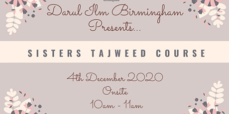 Sisters Tajweed Classes tickets