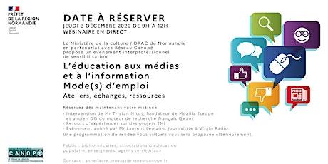 Sensibilisation à l'Education aux Médias et à l'Information billets