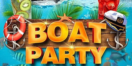 BOAT PARTY | WELCOME TO @PARTYINGWORLD tickets
