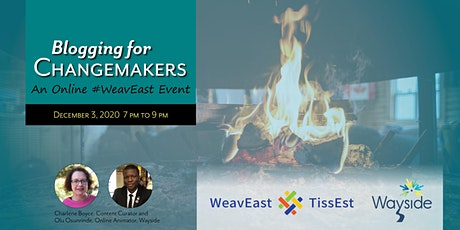 Blogging for Changemakers: A #WeavEast Event tickets