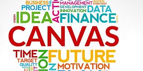 Businessmodell CANVAS - meine Geschäftsidee. Tickets