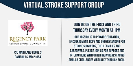 Virtual Stroke Support Group tickets